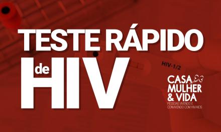 Vídeo – Teste Rápido HIV