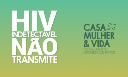 Soropositivos com carga viral indetectável não transmitem HIV