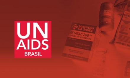 UNAIDS Brasil sobre dificuldade de acesso a medicamentos antirretrovirais