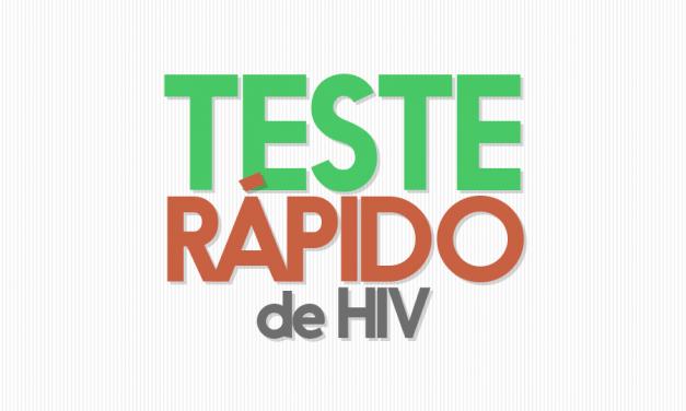 Casa M&V realiza teste rápido de HIV